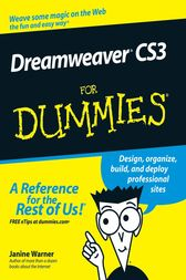 Dreamweaver CS3 For Dummies by Janine Warner