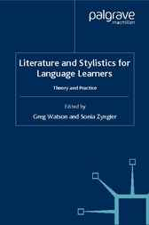 Literature and Stylistics for Language Learners