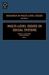 Multi-Level Issues in Social Systems by Francis Yammarino