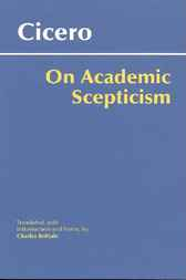 On Academic Scepticism by Cicero;  Charles Brittain