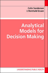Analytical Models for Decision-Making by Colin J. Sanderson