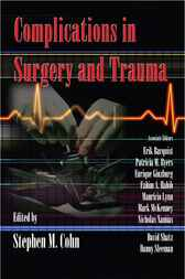 Complications in Surgery and Trauma by Stephen M. Cohn