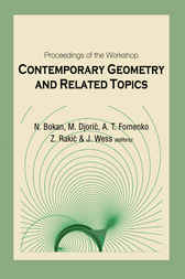Contemporary Geometry And Related Topics, Proceedings Of The Workshop by Neda Bokan