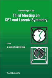 Cpt And Lorentz Symmetry - Proceedings Of The Third  Meeting by V. Alan Kostelecký