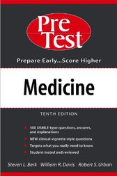 Medicine: PreTest Self-Assessment and Review by Steven Berk