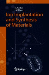 Ion Implantation and Synthesis of Materials by Michael Nastasi