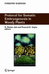 Protocol for Somatic Embryogenesis in Woody Plants by S.Mohan Jain