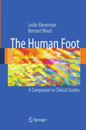 The Human Foot by Leslie Klenerman