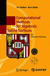 Computational Methods for Algebraic Spline Surfaces
