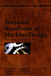 Standard Handbook of Machine Design by Joseph Shigley