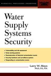 Water Supply Systems Security by Larry Mays