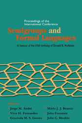 Semigroups And Formal Languages by by Jorge M André