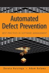 Automated Defect Prevention by Dorota Huizinga