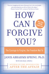 How Can I Forgive You? by Janis A. Spring