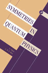 Symmetries in Quantum Physics