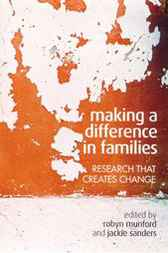 Making a Difference in Families by Robyn Munford