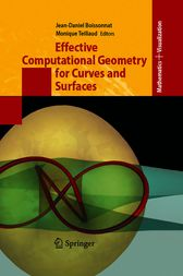 Effective Computational Geometry for Curves and Surfaces by Jean-Daniel Boissonnat