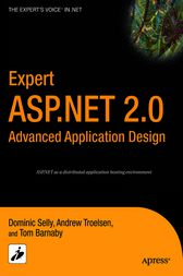 Expert ASP.NET 2.0 Advanced Application Design by Tom Barnaby