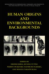 Human Origins and Environmental Backgrounds by Hidemi Ishida