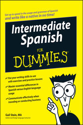 Intermediate Spanish For Dummies by Gail Stein