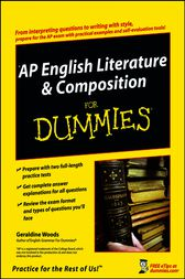 AP English Literature & Composition For Dummies by Geraldine Woods