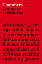 Chambers Compact Thesaurus by Ian Brookes