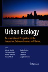 Urban Ecology by John Marzluff