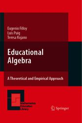 Educational Algebra by Filloy Yagüe Eugenio