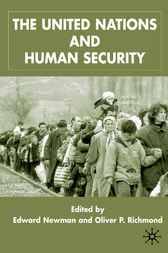 The United States and Human Security by Edward Newman
