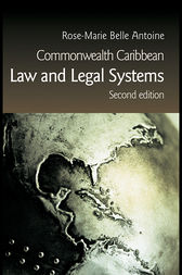 Commonwealth Caribbean Law and Legal Systems by Rose-Marie Belle Antoine