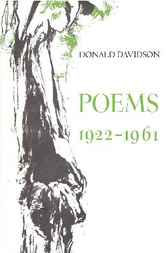 Poems, 1922-1961 by Donald Davidson