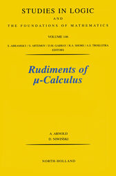 Rudiments of [mu]-calculus by A. Arnold