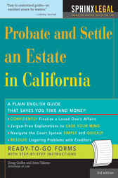 Probate and Settle an Estate in California by Douglas Godbe
