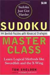 Sudoku Master Class by Tom Sheldon