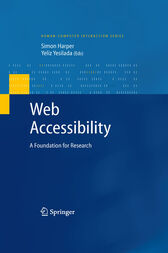Web Accessibility by Simon Harper