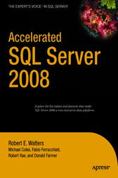 Accelerated SQL Server 2008 by Michael Coles