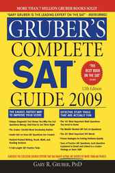 Gruber's Complete SAT Guide 2009 by Gary R. Gruber