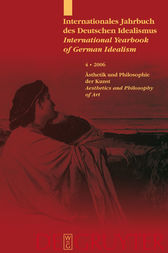 Ästhetik und Philosophie der Kunst / Aesthetics and Philosophy of Art