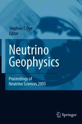 Neutrino Geophysics by Stephen T. Dye