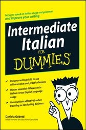 Intermediate Italian For Dummies by Daniela Gobetti
