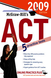 McGraw-Hill's ACT, 2009 Edition by Steven Dulan
