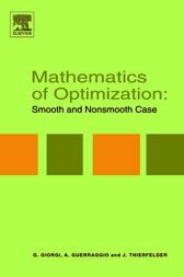 Mathematics of Optimization