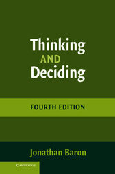 Thinking and Deciding by Jonathan Baron
