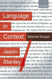 Language in Context by Jason Stanley
