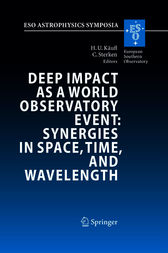 Deep Impact as a World Observatory Event: Synergies in Space, Time, and Wavelength by Hans Ulrich Käufl