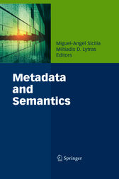 Metadata and Semantics by Miguel-Angel Sicilia