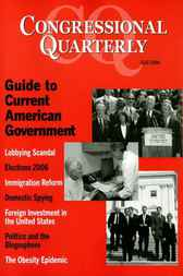 CQ's Guide to Current American Government, Fall 2006 by CQ Press