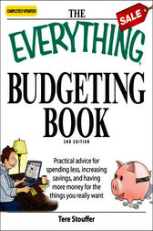 The Everything Budgeting Book by Tere Stouffer