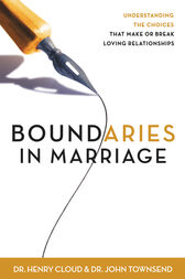 Boundaries in Marriage by Henry Cloud