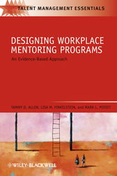 Designing Workplace Mentoring Programs